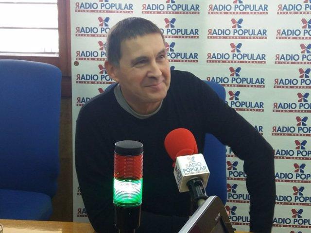 Otegi en Radio Popular