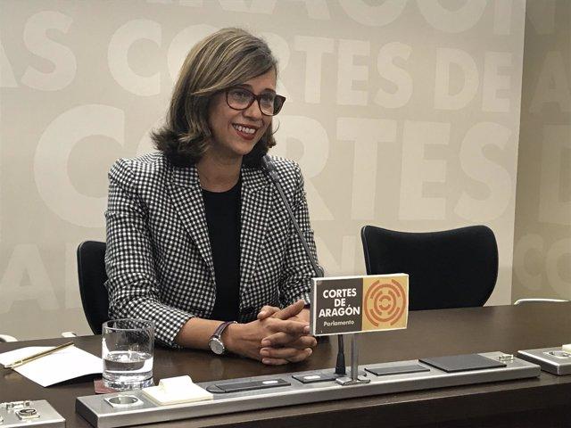 Marian Orós, diputada del PP