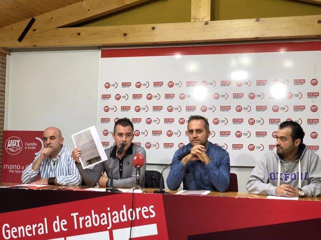 Sindicatos informan de la situación en el sector de la hostelería en Valladolid