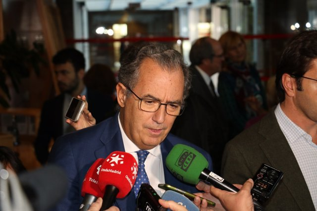 El portavoz de PP en la Asamblea de Madrid, Enrique Ossorio
