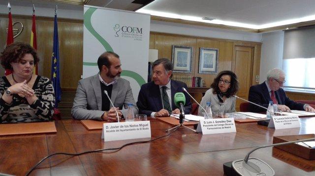 Rueda de prensa en el COFM por la farmacia de El Boalo