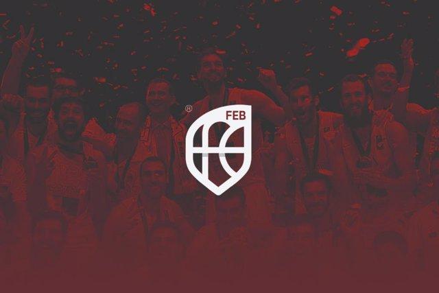 Nuevo logo de la Federación Española de Baloncesto (FEB)