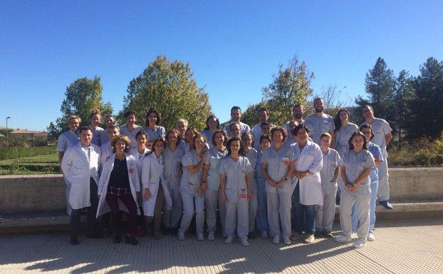 Equipo neurológico del Complejo Hospitalario de Navarra D