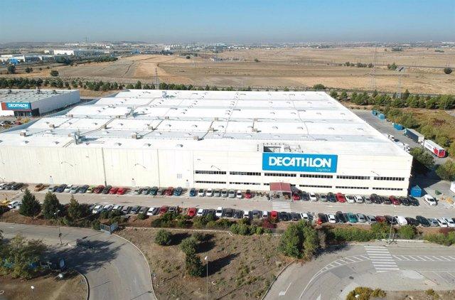 Centro Logístico de Decathlon en Getafe