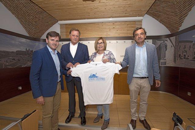 Presentación del programa 'Senior y saludable' de la Diputación de Cáceres