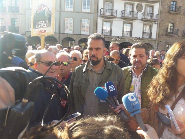 José Manuel Zapico de CCOO Asturiaas