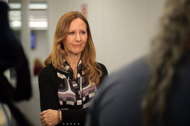 Marta González Vázquez, diputada del PP