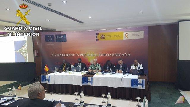 X Conferencia Policial Euro Africana