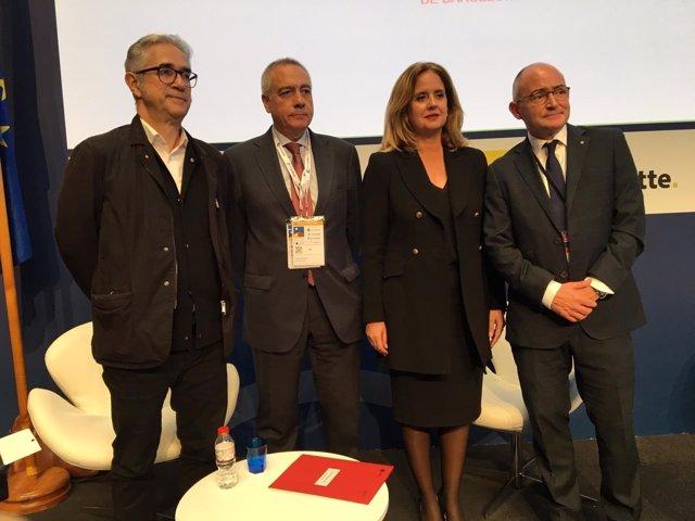 Josep María Montaner, Pere Navarro, Helena Beunza y Ferran Falcó