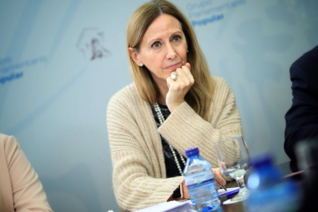 Marta González, diputada del PP