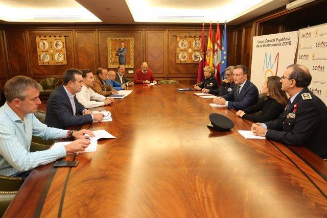 Reunión del Plan de Nevadas de Ávila 25-10-2018