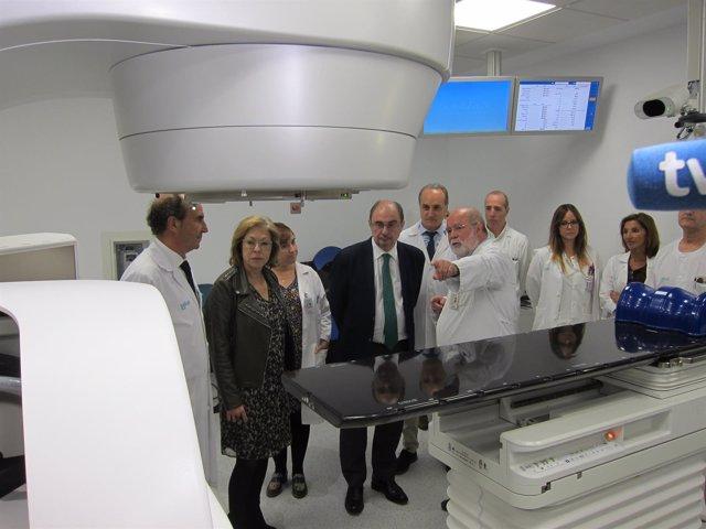 Nuevo acelerador lineal para tratar el cáncer en el Hospital Clínico de Zaragoza
