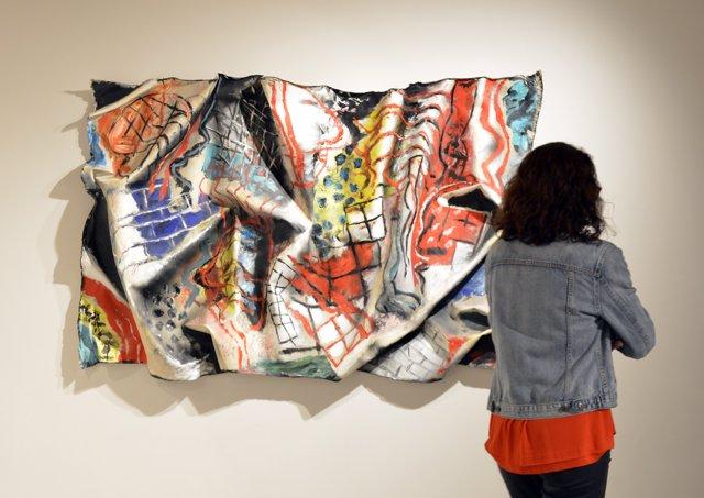 Obra de la muestra 'Uiso. El suicidio de la pintura'.