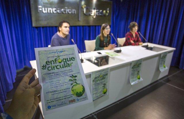 Presentan la I Jornada de Economía Circular de la Fundación Cajasol.