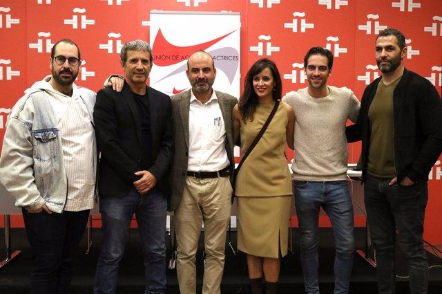 Foto de familia del nuevo premio de la Union de Actores y Actrices