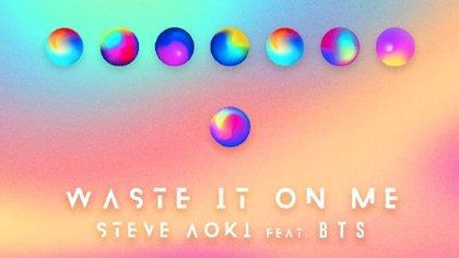 Escucha la colaboración (íntegramente en inglés) entre Steve Aoki y BTS: Waste it on me