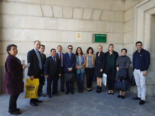 Representantes de DDHH de la OSCE en Sevilla