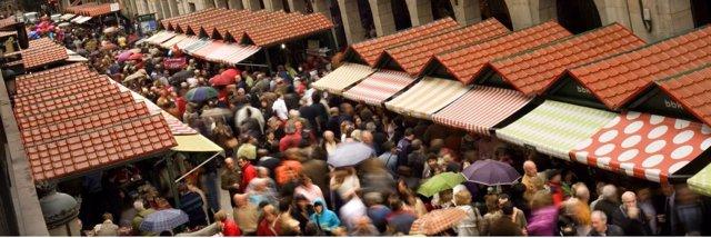 Puestos del mercado de Gernika