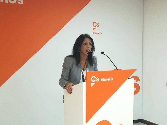 La portavoz provincial de Cs en Almería, Marta Bosquet