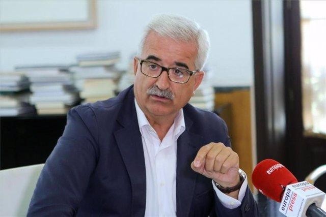 Manuel Jiménez Barrios, vicepresidente de la Junta