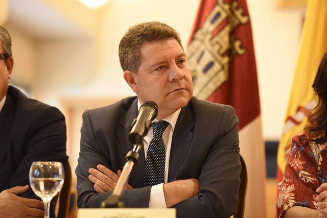 Emiliano García-Page, presidente de C-LM, en Ciudad Real