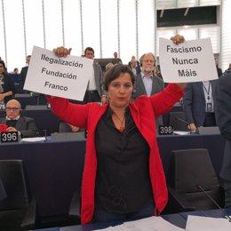 La eurodiputada del BNG Ana Miranda