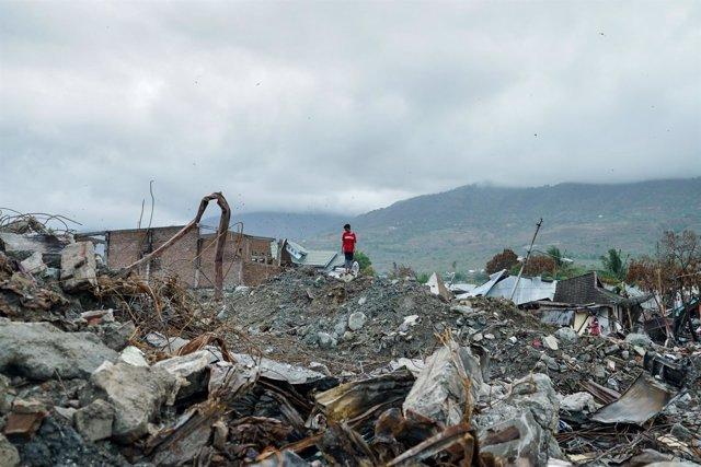 Un mes después del terremoto en Célebes