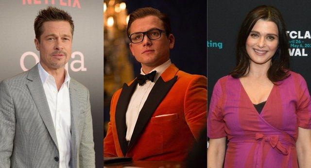 Bradd Pitt y Rachel Weisz, en negociaciones para fichar por Kingsman 3