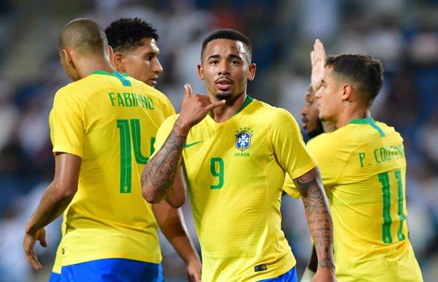 Brasil gana con lo justo a Arabia Saudí