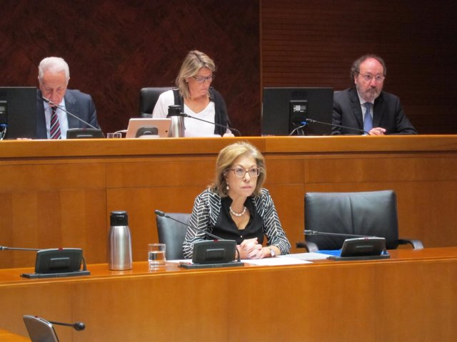 Pilar Ventura ha comparecido este viernes en comisión en las Cortes