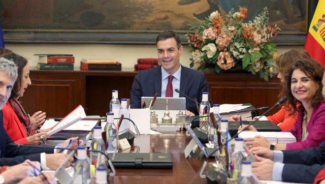 Reunión de Consejo de Ministros en Sevilla