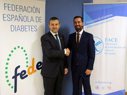 Las Federaciones de Diabetes y de Asociaciones de Celíacos acuerdan promover información de calidad sobre las patologías
