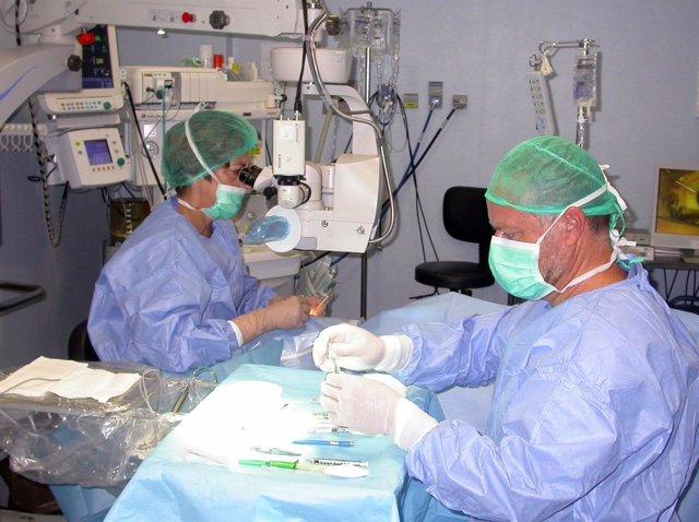 Cirugía de cataratas