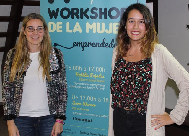 Workshop de la Dona Emprenedora, amb S.Werner i N.Pujadas