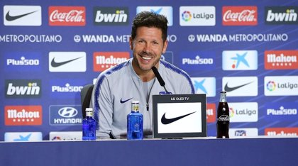 """Simeone: """"Creo que jugamos mejor en Dortmund que en Villarreal"""""""