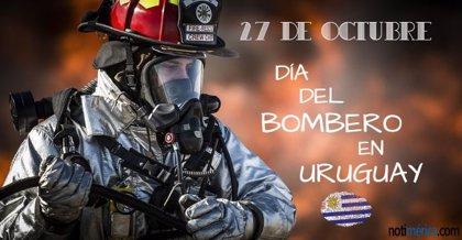 27 de Octubre: Día del Bombero en Uruguay, ¿por qué se festeja hoy esta efeméride?