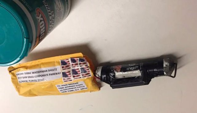 Paquete explosivo remitido a la CNN