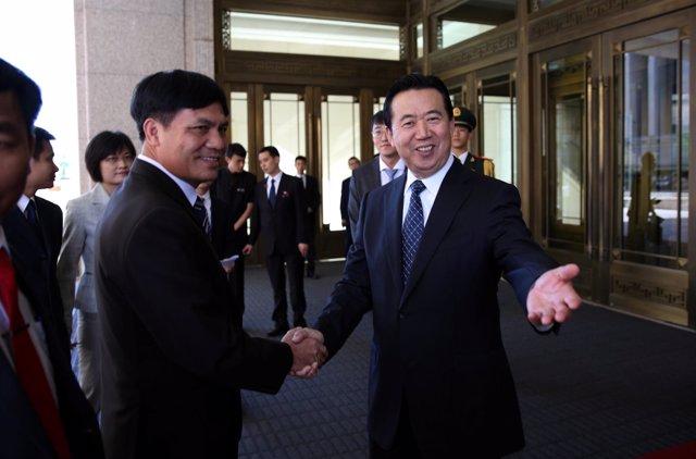 Meng Hongwei, presidente de Interpol