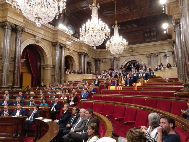 El Parlament el 27 de octubre de 2017 (Archivo)