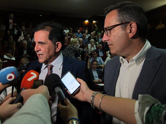Candidato socialista a la Alcaldía de Murcia, José Serrano