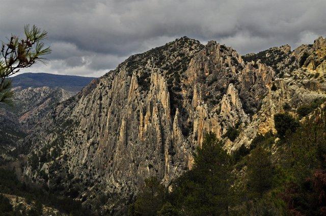 Monumento Natural de los Órganos de Montoro.