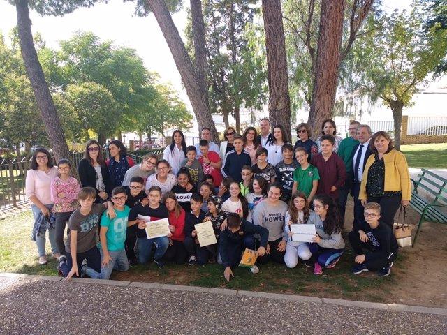Entrega de diplomas a los alumnos del 'Carlos III' de Guarromán