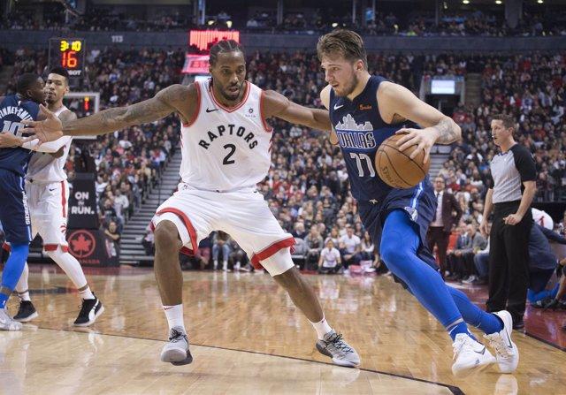 Dallas Mavericks Luka Doncic Toronto Raptors Kawhi Leonard