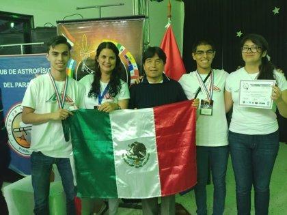 México se lleva el oro en la X Olimpiada de Astronomía y Astronáutica