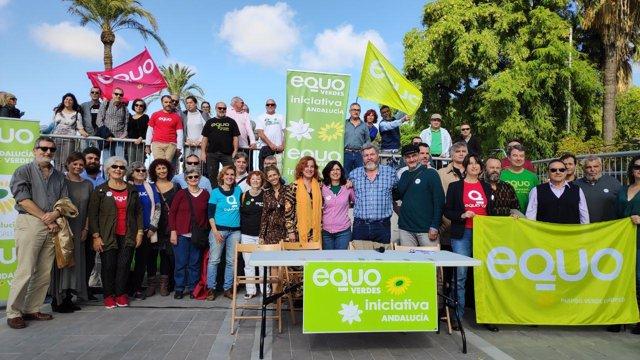 Presentación de la candidatura de Equo-Iniciativa por Andalucía