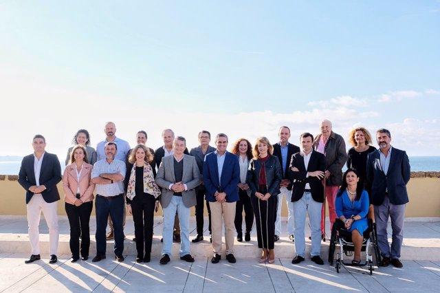 Presentación de la candidatura del PP de Cádiz a las elecciones andaluzas