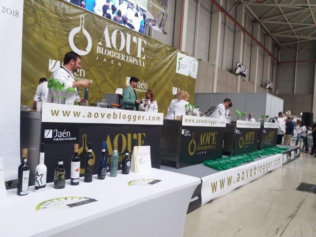 Celebración de AOVE Blogger 2018