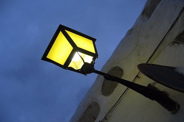Farola, luminaria