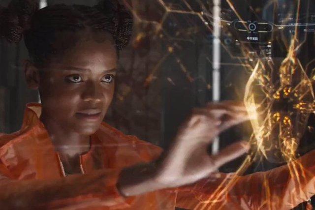 Shuri en Vengadores: Infinity War