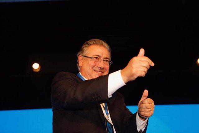 Juan Ignacio Zoido, en la Interparlamentaria del PP